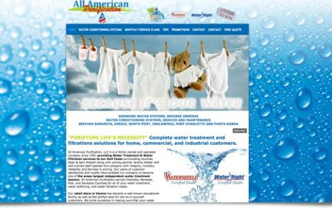 Water purification, water filtration company venice florida