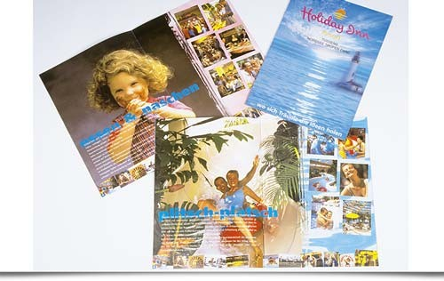 Holiday Inn Tossens Brochure Design