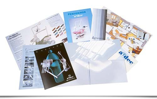 adec dental brochure design