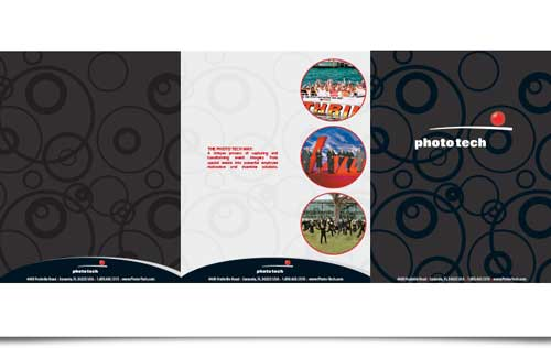 Phototech Brochure Design