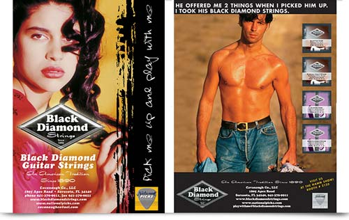 Black Diamond Strings Ad Campaign
