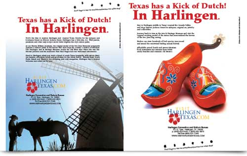 Harlingen Texas Ad Design