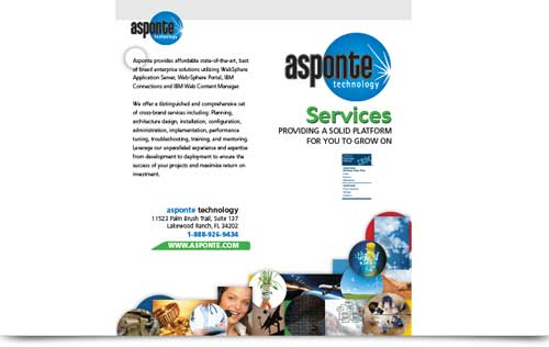 Asponte Brochure Design