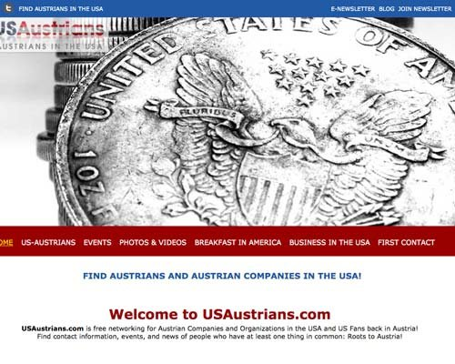 US Austrian Chamber website