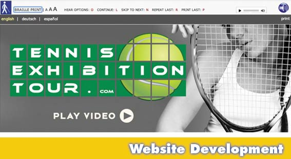 Sarasota Website Design Tennis Tour