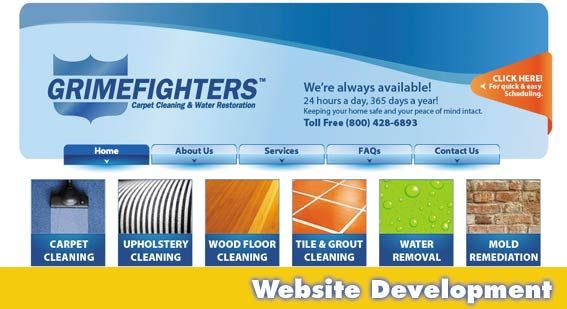 Sarasota Website Design Grimefighters