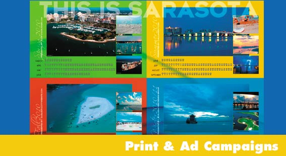 Print and Advertising Campaigns Sarasota